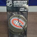 NHL Team Air Freshener 3 Pack
