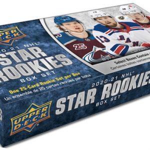 20/21 Upper Deck NHL Star Rookie Box Set