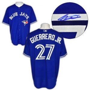 Vladimir Guerrero Jr Toronto Blue Jays Signed Baseball Jersey